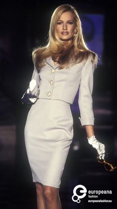 Karen Mulder  - Atelier Versace.  1996 @linaqxo