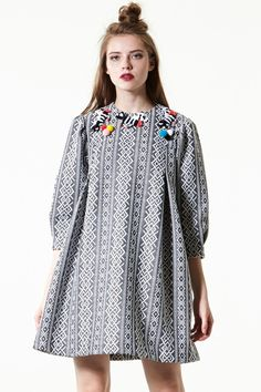 *Product Specification *Polyester Wool *Flat Measurement(S) : waist / bust / length *Professional Clean Only Model's height is and wearing S Tweed Dress, Going Out Dresses, Latest Fashion Trends, Tea Party, Tunic Tops, Fashion Outfits, Wool, Chic, My Style