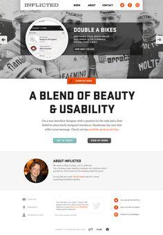New Portfolio on Web Design Served