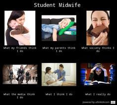 Midwife student