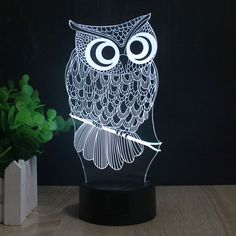 Best price on 3D Cartoon Owl Hologram Night Light Lamp     Price: $ 30.80  & FREE Shipping     Your lovely product at one click away:   http://mrowlie.com/3d-cartoon-owl-hologram-night-light-lamp/     #owl #owlnecklaces #owljewelry #owlwallstickers #owlstickers #owltoys #toys #owlcostumes #owlphone #phonecase #womanclothing #mensclothing #earrings #owlwatches #mrowlie #owlporcelain