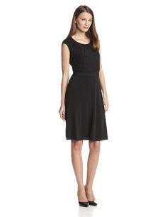 Calvin Klein Women's Cap Sleeve Dress with Lace Detail, Black, Large Calvin Klein,http://www.amazon.com/dp/B00FZ38JKU/ref=cm_sw_r_pi_dp_PDsjtb10AQB38QGA