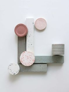 Cosmos concrete - Marta Bakowski _ Design & research Material Board, Material Design, Design Set, Bedroom Minimalist, Design Research, Colour Schemes, Drawing People, Textures Patterns, Colorful Interiors