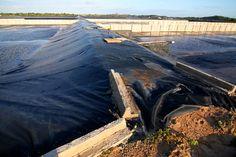 #RN A lagoa de captação e a estação de tratamento de esgotos, em Pium, estão sem uso há dois anos.