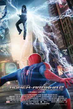 """Cartazes nacionais do filme """"O Espetacular Homem-Aranha 2: A Ameaça de Electro"""" http://cinemabh.com/imagens/cartazes-nacionais-do-filme-o-espetacular-homem-aranha-2-a-ameaca-de-electro"""