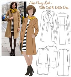 How cool are these sewing pattern ideas?  Would love to make an entire handmade wardrobe like this one day. Get free sewing patterns and inspiration at www.sewinlove.com.au
