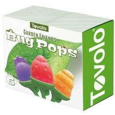 Garden Friends Bug Pops from Amazon $14.11 These are fun because each mold is a different bug. #popsicles #popsiclemolds #popsiclemakers #icepops