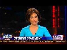 Judge Jeanine Pirro Opening Statement - Barack Obama Lies Again To Americans - 11-23-2013 - YouTube