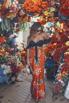 Alex Hoyos und Cartagena â € žla fantásticaâ € œ ein Geheimtipp &; Alex Hoyos und C&; Alex Hoyos und Cartagena â € žla fantásticaâ € œ ein Geheimtipp &; Alex Hoyos und C&; Hippie Chic Outfits, Hippie Style Clothing, Boho Summer Outfits, Hippie Dresses, Spring Summer Fashion, Cute Outfits, Summer Dresses, Sunday Outfits, Beach Outfits