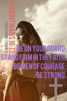 1 Corinthians16:13