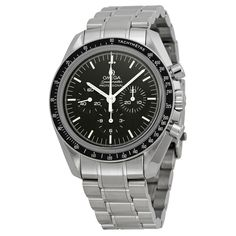 Omega Speedmaster Professional Moon Chronograph Black Dial Stainless Steel Men's Watch 311.30.42.30.01.006
