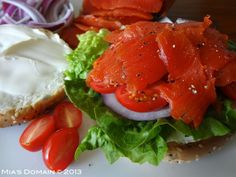 Mias Domain | Rustic Modern Cuisine: Cured Wild Salmon (Lox) Best Gluten Free Recipes, Real Food Recipes, Healthy Recipes, Healthy Foods To Eat, Healthy Eating, Salmon Lox, Cooking Salmon, Food Photo, Seafood