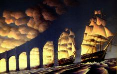 *Explore #26* I took a shot of this classic piece of art by Rob Gonsalves and slid it a bit. HSS