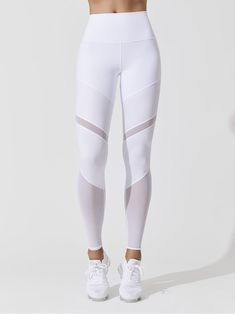 4bb4232be9d01 Alo Yoga Women's Activewear - Carbon38. ALO YOGA HIGH WAIST SHEILA LEGGING  White LEGGINGS
