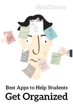Best apps to help students get organized with school work, such as homework, projects, exams, grades, … great learning skill tools for kids from elementary school to middle and high school, and college.