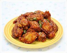사과즙을 넣은....닭강정 – 레시피 | Daum 요리