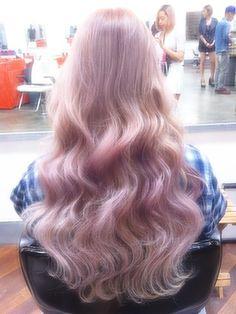 Milky lavender #hair