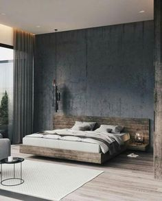 Modern Master Bedroom, Modern Bedroom Decor, Master Bedroom Design, Contemporary Bedroom, Home Bedroom, Bedroom Ideas, Master Bedrooms, Trendy Bedroom, Bedroom Neutral