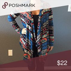 Tribal light sweat NWT Small but fits more like a medium. Very light sweater Sweaters Cardigans