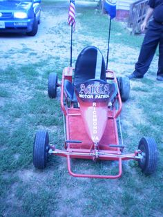 Chris' go cart , he belongs to Acca Motor Patrol unit in the go-carts at Acca Temple Shriners