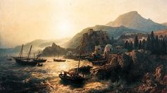 Andreas Achenbach's Sicilian Landscape (1861).  The current possessor of an Andreas Achenbach (1815-1910) painting recently withdrawn from a Dusseldorf museum on charges that it is &#82…