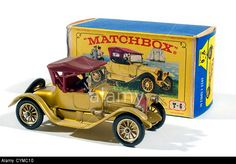 Y6 Matchbox Models Of Yesteryear 1913 Cadillac Produced By Lesney ...