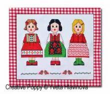 Iveta Hlavinova - My dolls (cross stitch pattern )
