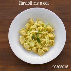 il giardino dei ciliegi: Ricette delle Langhe: Raviòle ris e coi (Ravioli r...