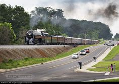 RailPictures.Net Photo: NW 611 Norfolk & Western Steam 4-8-4 at Front Royal, Virginia by Chase Gunnoe
