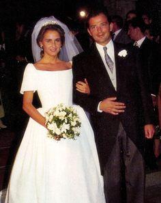 Kubrat, Prince of Panagyurishte, Duke of Saxony married on 2 July 1993 to Doña Carla María de la Soledad Royo-Villanova y Urrestarazu