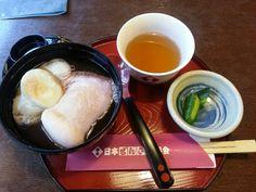 Sweeten red bean soup @ Shimane, Japan