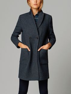 Massimo Dutti DOUBLE-BREASTED COAT, £195