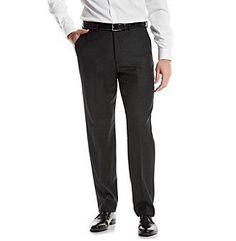 Michael Kors® Men's Black Solid Suit Separates Pants