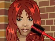 Rihanna is famous for her various hairstyles. With this game you can give her hundreds of different hairstyles. Brilliant, no?