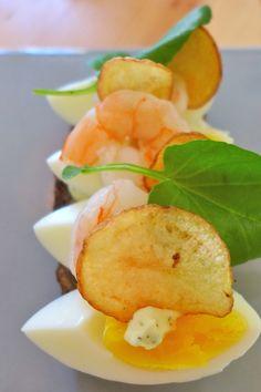 Smørrebrød #aamanns #dansk #cuisine - Loved by @Andy Denmark House