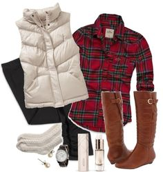Stylish Yet Warm Vests for Women - Sortrature Vest Outfits, Casual Outfits, Cute Outfits, Fall Winter Outfits, Autumn Winter Fashion, Winter Clothes, Winter Vest, Country Outfits, Passion For Fashion