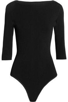Alaïa - Stretch-knit Bodysuit - Black - FR38