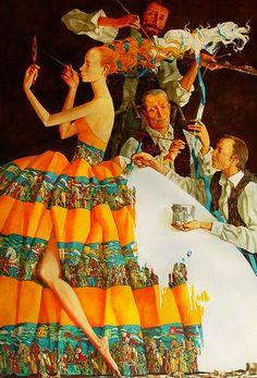 Роман Заслонов (1962 г.р.) - белорусский художник-сюрреалист