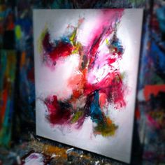 #brittanyleehoward #abstractpainting