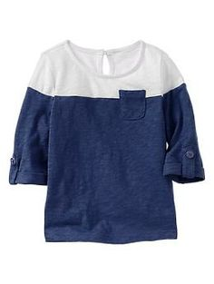 Colorblock pocket T | Gap