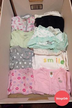 3be092893da A bundle of baby girl clothing which includes  3 baby pajamas