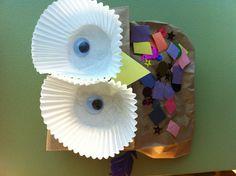 Kindergarten owl craft!