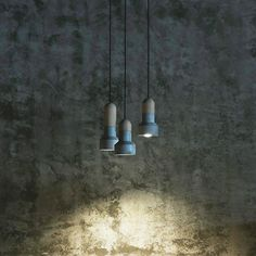 Concrete & Bamboo Pendant by Bentu Design available at www.suchandsuch.co