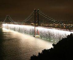 Ponte 25 de Abril...love this picture of it.