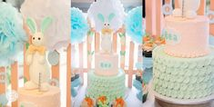 Bea's Pat the Bunny Themed Party – Cake