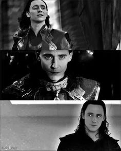 Tom Hiddleston as Loki in Thor: The Dark World, 2013.