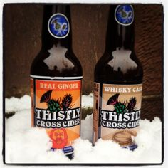 Two of our favourite ciders for autumn / winter. Warming!