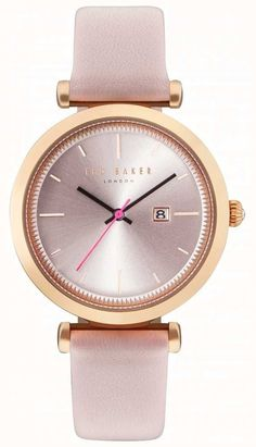 242f77a6760a92 Ted Baker Womans Ava 36mm Rose Gold Case Pink Watch TE10031518 - First  Class Watches™