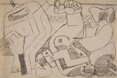 FB / Le Corbusier (Charles-Edouard Jeanneret) Chute de Barcelona (La caída de Barcelona [estudio]) 1959-1961 (ca.)