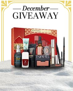 We are seriously lusting after this Sephora Favorites box...Enter to win these cult favorites from Smashbox, Nars, Benefit, Urban Decay and more!